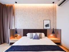 Contemporary Modern Bedroom@Project Icon Residenz, Icon City PJ