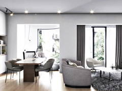 Minimalistic Modern Living Room@Taman Seputeh 3 Storey Terrace