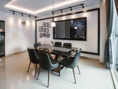 Contemporary Minimalistic Dining Room@Kota Tinggi