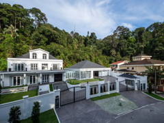 Classic Modern Exterior@The White Mansion, Ampang Jaya