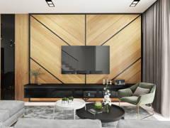 Classic Modern Living Room@TAMAN SRI MUDA, SHAH ALAM