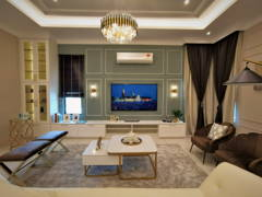 Classic Modern Living Room@Setia Alam Sari Type B