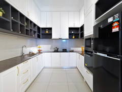 Country Modern Kitchen@Setia Alam Sari Type B
