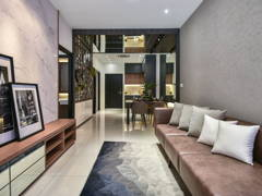 Contemporary Modern Living Room@BLISS Show Unit