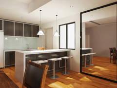 Modern Kitchen@CYBER HEIGHTS VILLA, CYBERJAYA