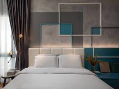 Modern Bedroom@Sierra 6 Puchong