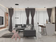 Contemporary Minimalistic Living Room@Calm In Tenderfield @ Eco Majestic, Semenyih