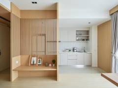 Minimalistic Zen Kitchen Living Room@Verdi Condominium, Cyberjaya
