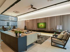 Contemporary Modern Living Room@Temasya Glenmarie
