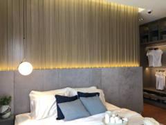 Minimalistic Zen Bedroom@Sunsuria Forum