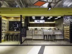 Industrial Minimalistic F&B Retail@PIN ON YELLOW - P.S TOKYO, EKO CHERAS