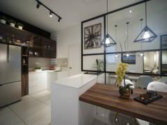 Contemporary Modern Dining Room@IOI Palmyra Residence