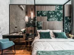 Contemporary Modern Bedroom@Opulent 30