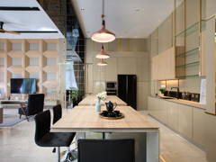 Contemporary Modern Kitchen@< Subtle Sophistication > @ Park Manor Showhouse, SierraMas