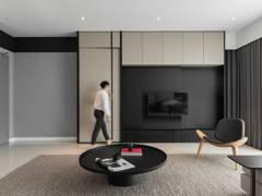 Contemporary Minimalistic Living Room@SERENITY - Condominium, petaling jaya