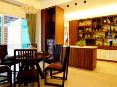 Modern Dining Room@Modern Tropica Homes