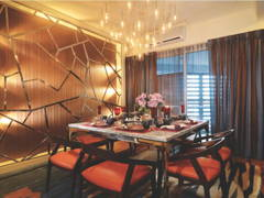 Contemporary Modern Dining Room@9 Bukit Utama Show Unit (Block B)