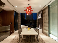 Contemporary Modern Dining Room@N residence
