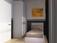 Minimalistic Scandinavian Bedroom@COMFORT AIR BNB @ Arte Plus
