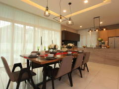 Contemporary Modern Dining Room@Setia Eco Park, Setia Alam