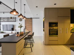 Industrial Modern Kitchen@Modern Industrial