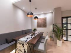 Contemporary Scandinavian Dining Room@Mutiara Damansara Double Storey Terrace