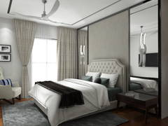 Classic Modern Bedroom@Luxury Living