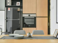 Modern Scandinavian Dining Room Kitchen@Dwiputra, Putrajaya