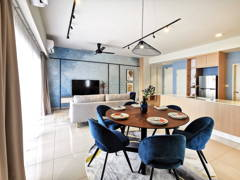 Contemporary Modern Dining Room Living Room@Sunway Gandaria Type C