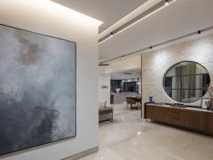 Contemporary Modern Foyer@Kokoro @ Alam Impian