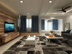 Contemporary Modern Living Room@SS7, KELANA JAYA