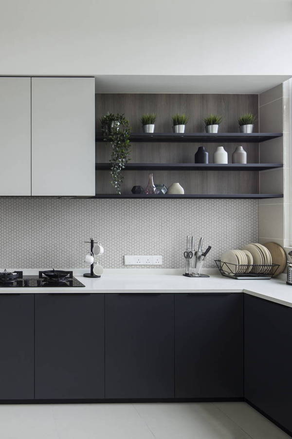 Here's What We Think About Monochrome Kitchens