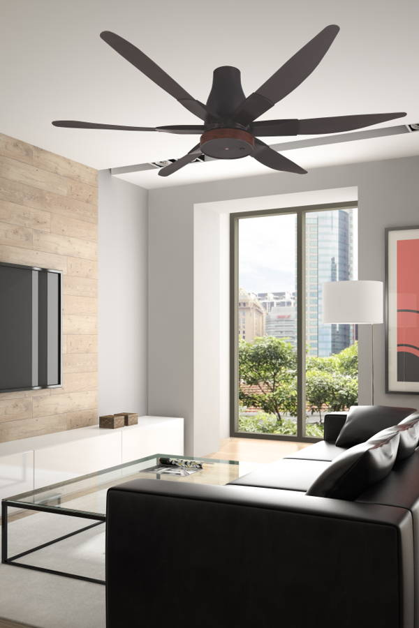 This Intelligent Ceiling Fan Can Read the Room