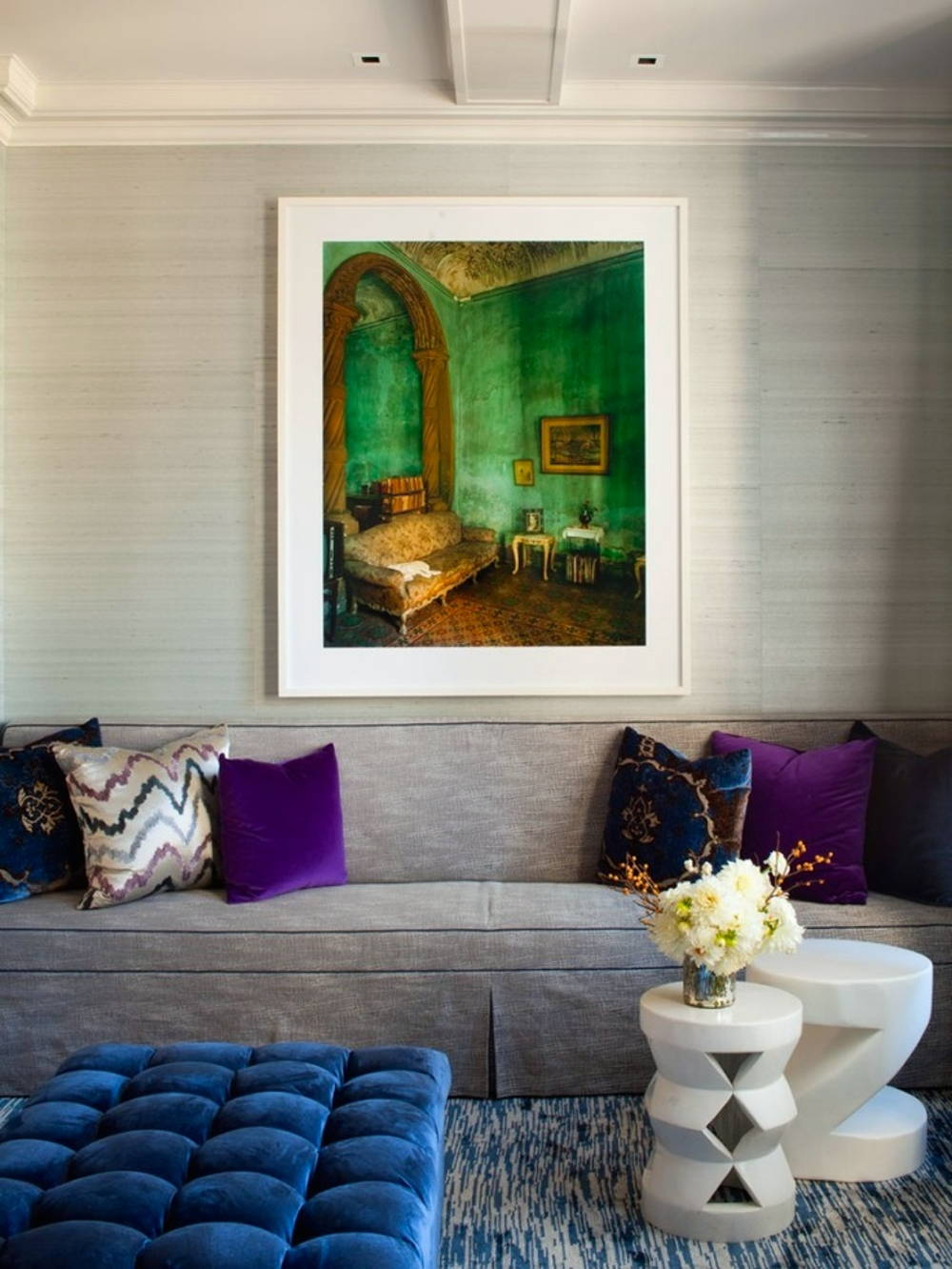 home interior jewel tones