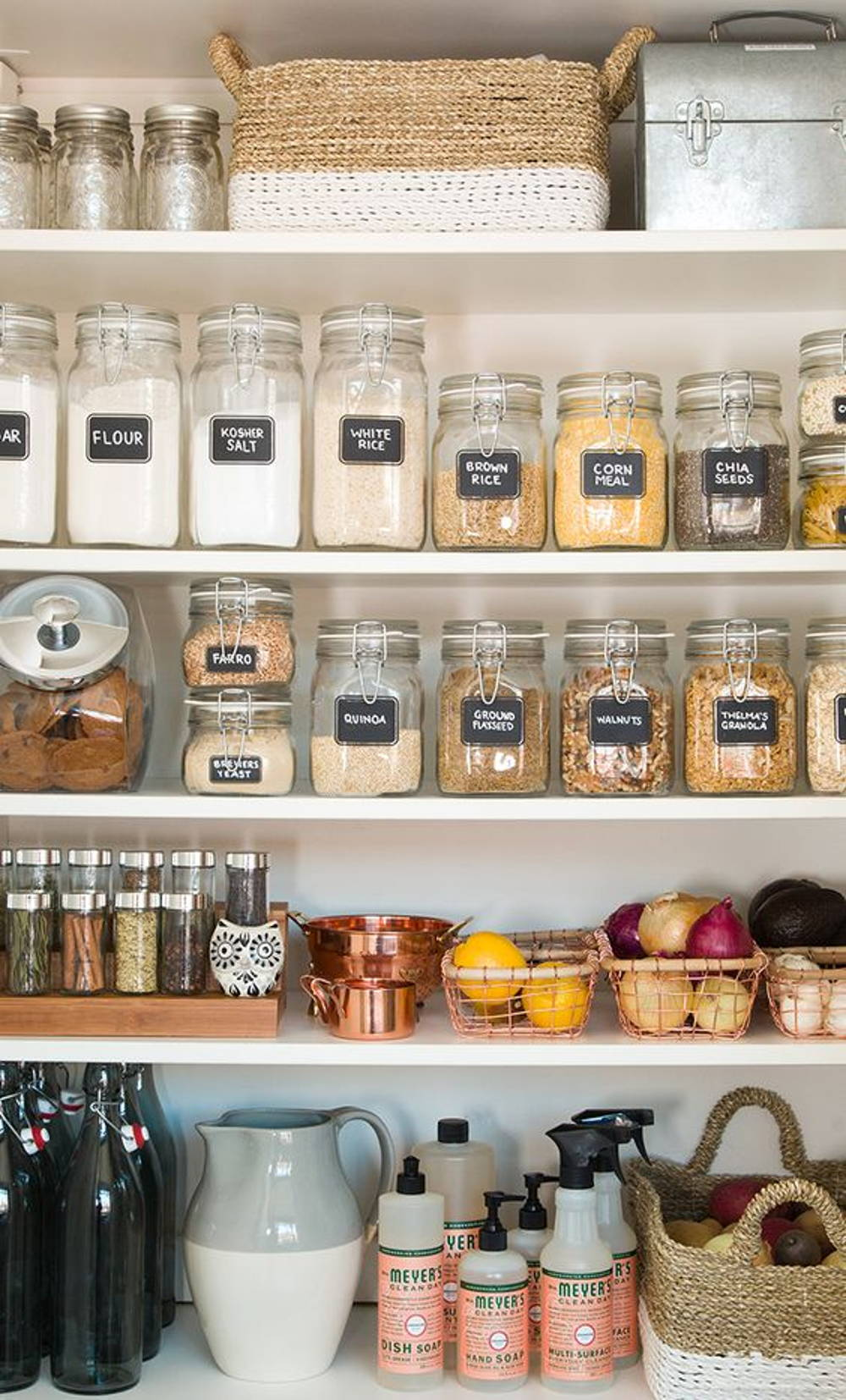 Kitchen clear containers