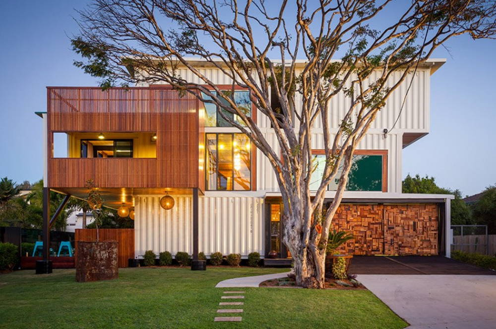 container homes living