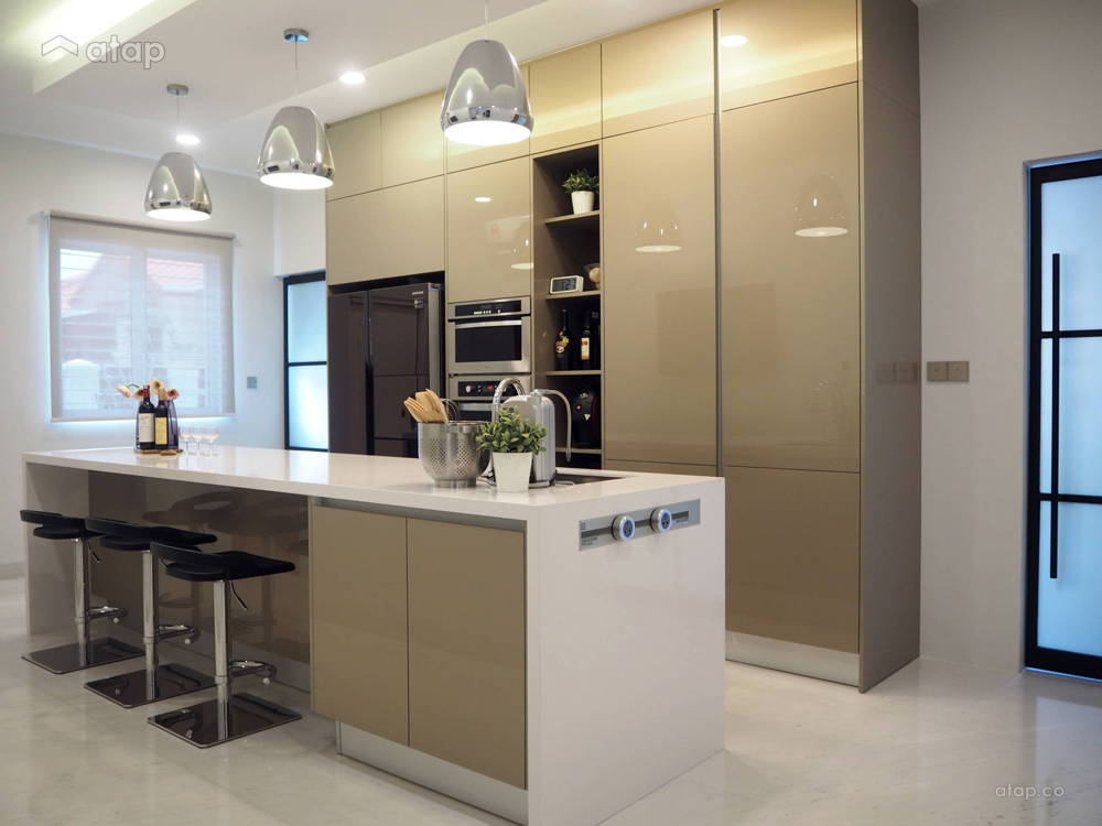 modern oriental kitchen