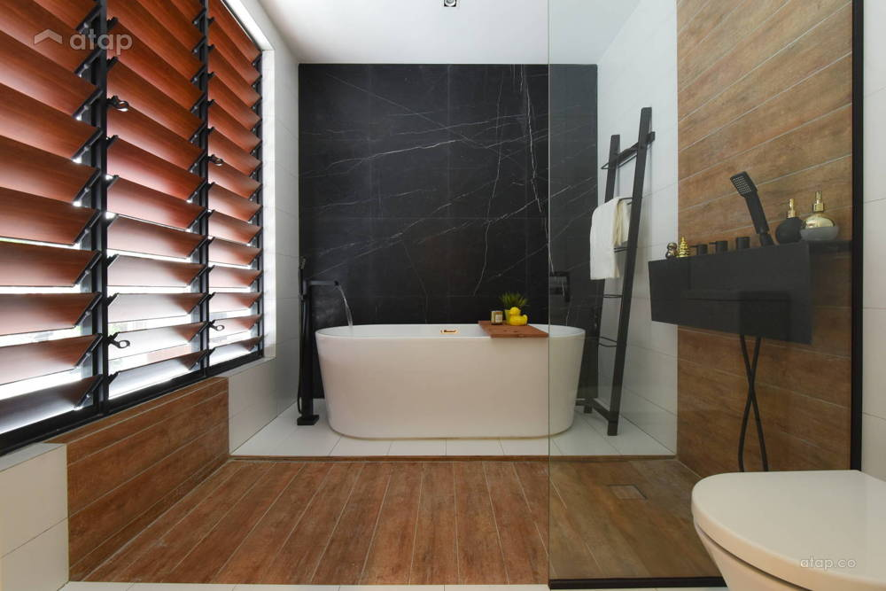 bathtub modern home