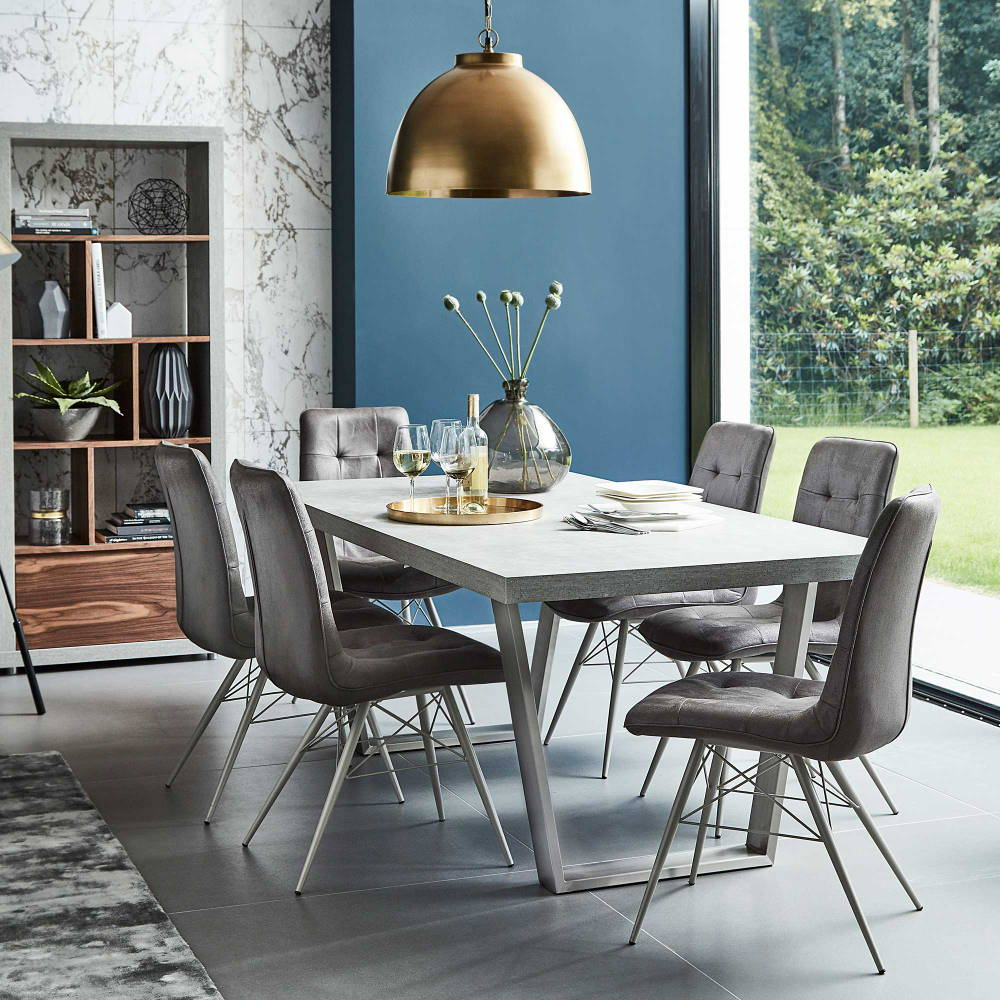Dining area blue