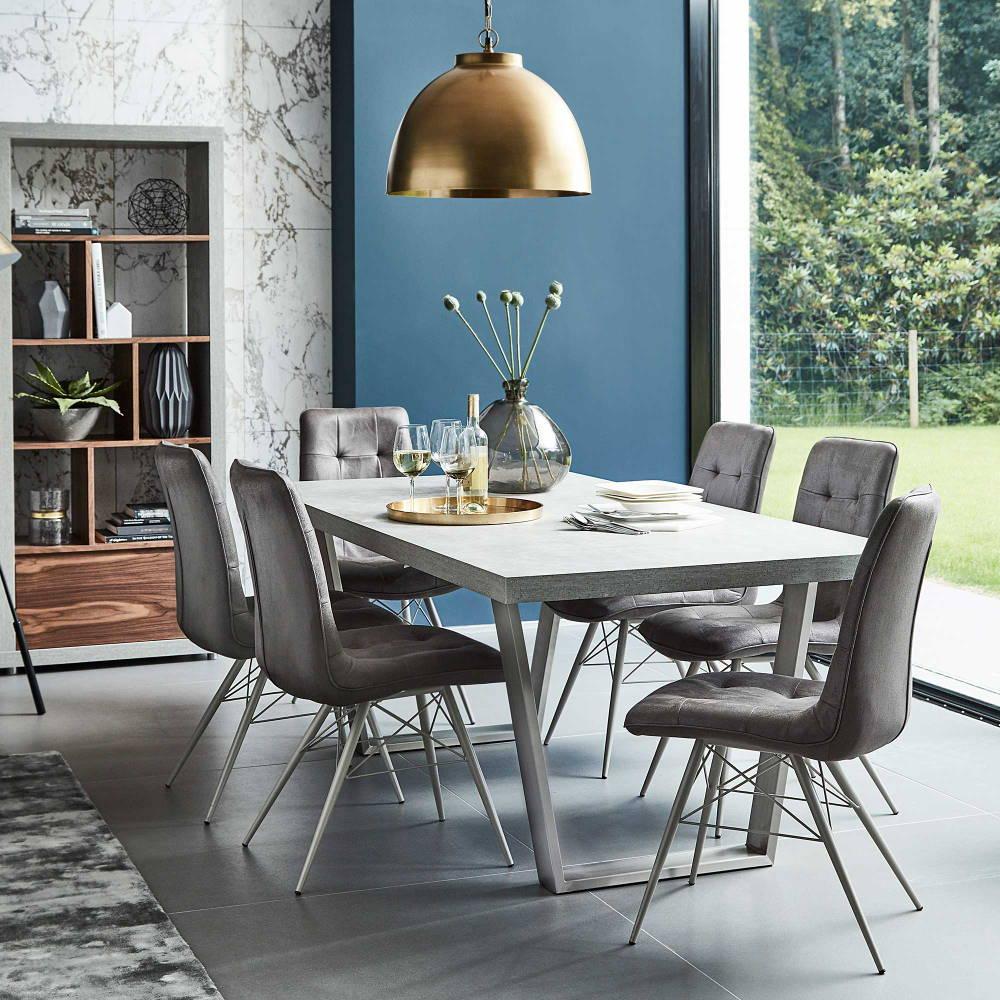 Dining area blue