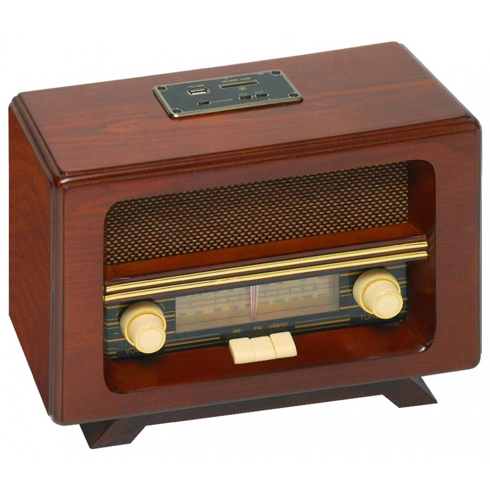old radio decor