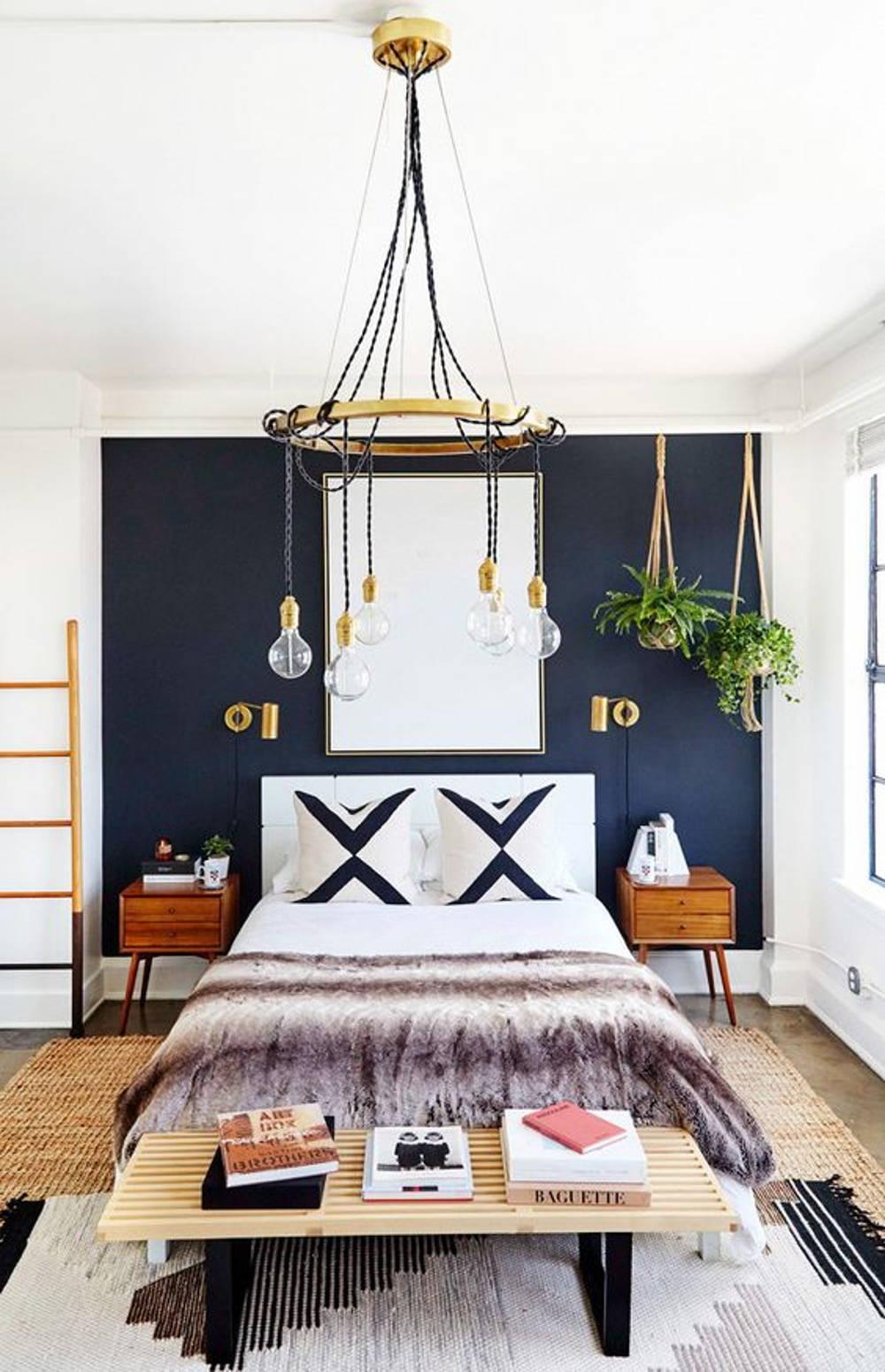chandelier bedroom