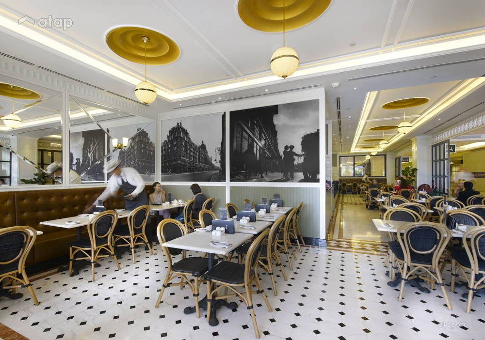 Harrods cafe klcc design colour