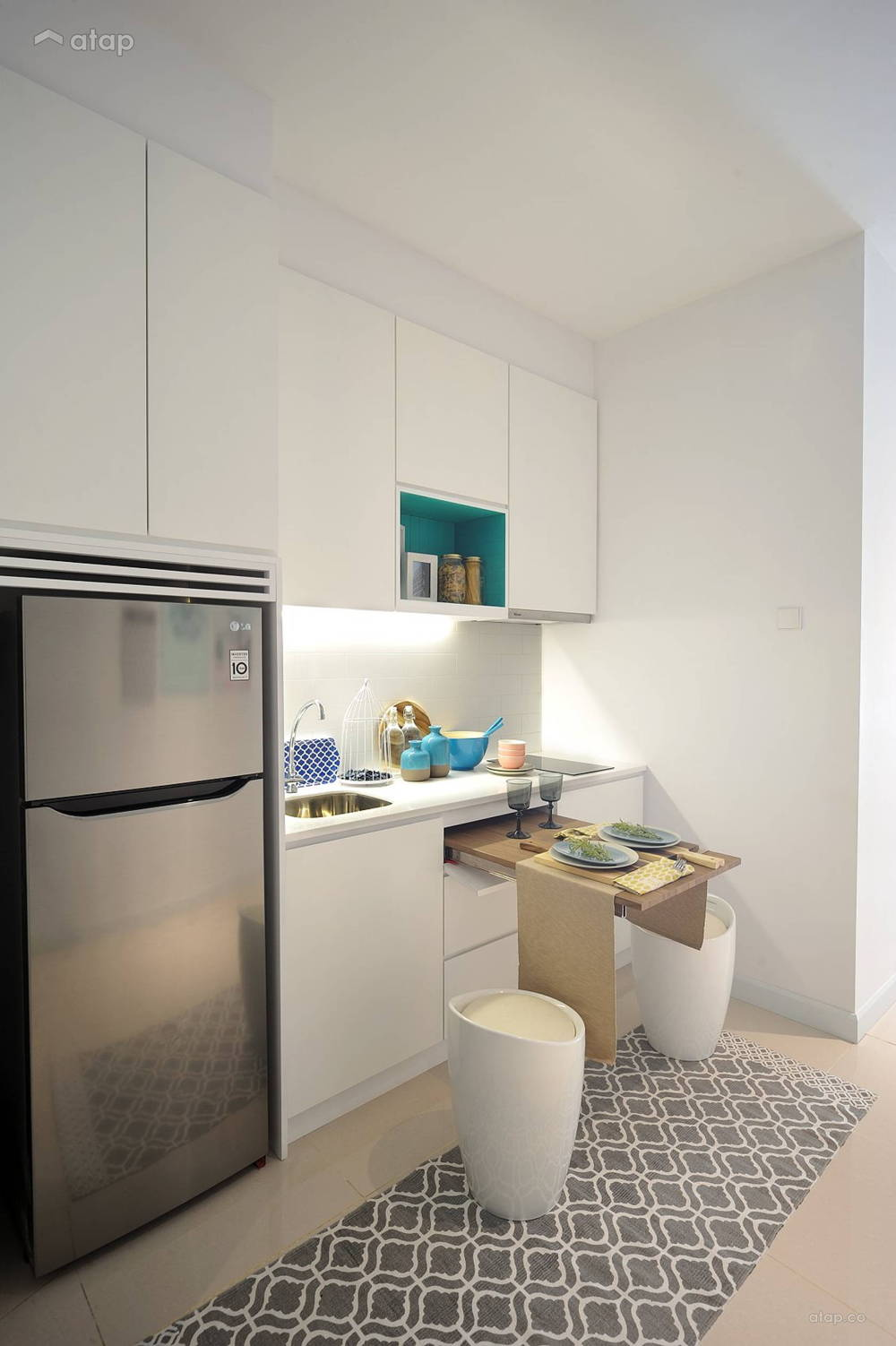 Highpark suites kitchenette