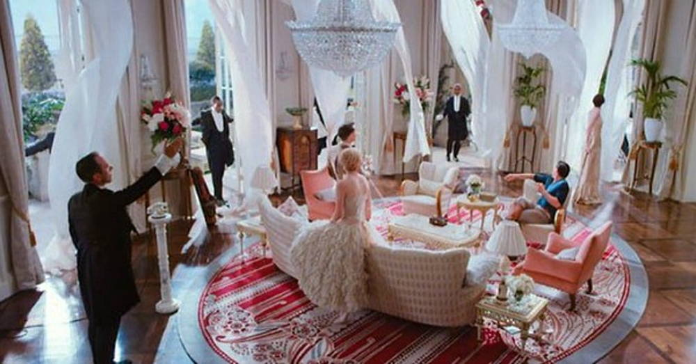 Great Gatsby set design