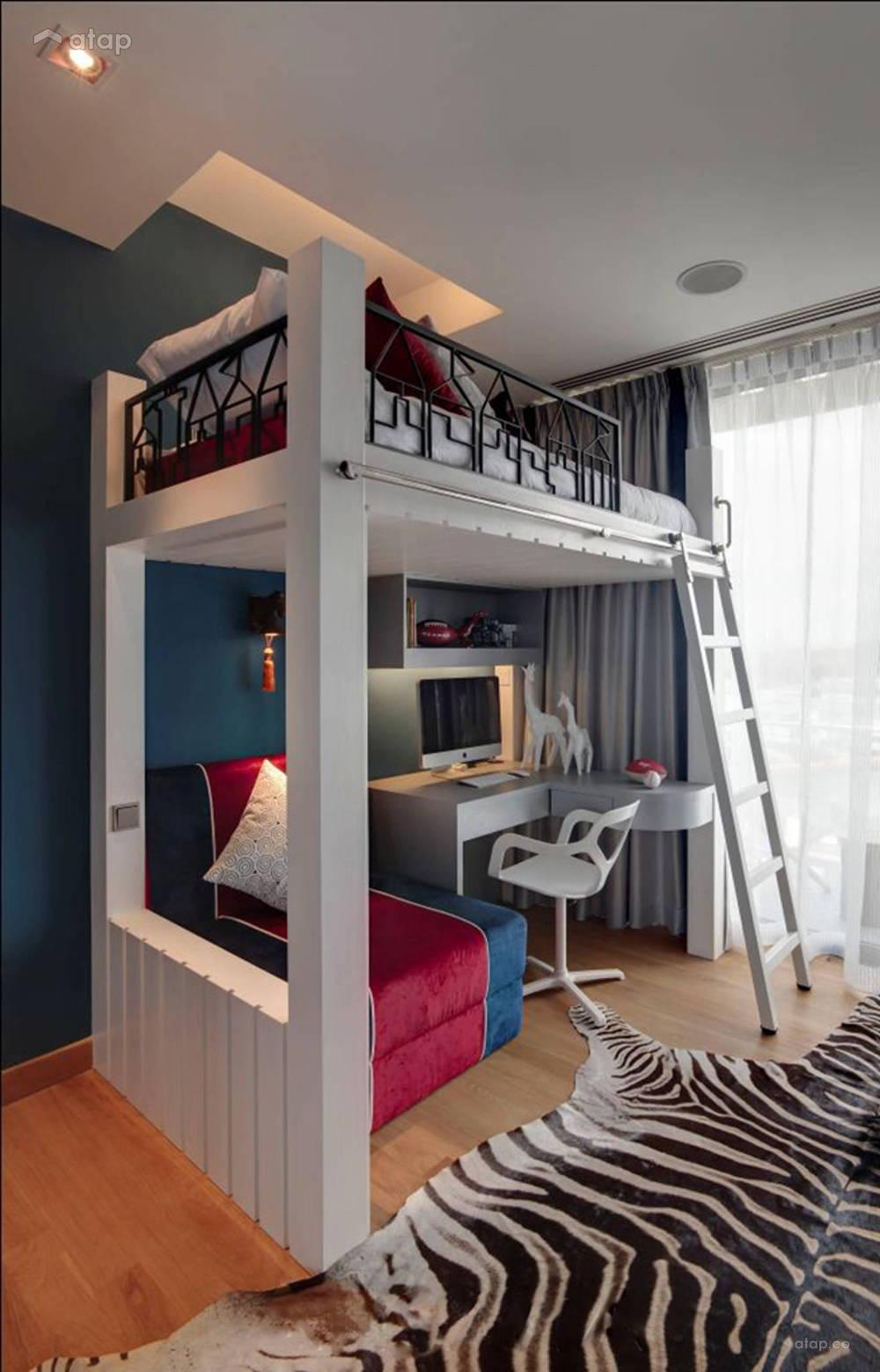 modern kid room