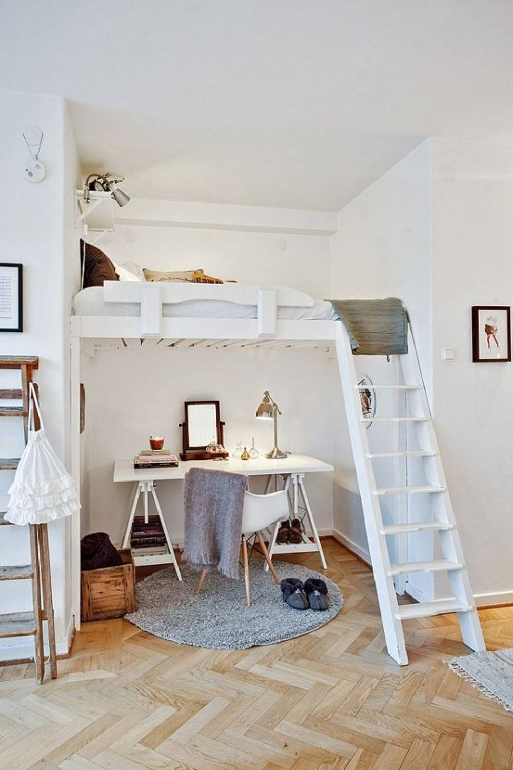 loft bed apartment