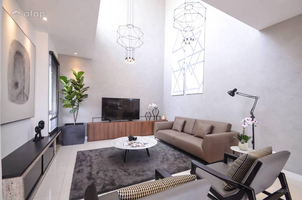 grey interior home