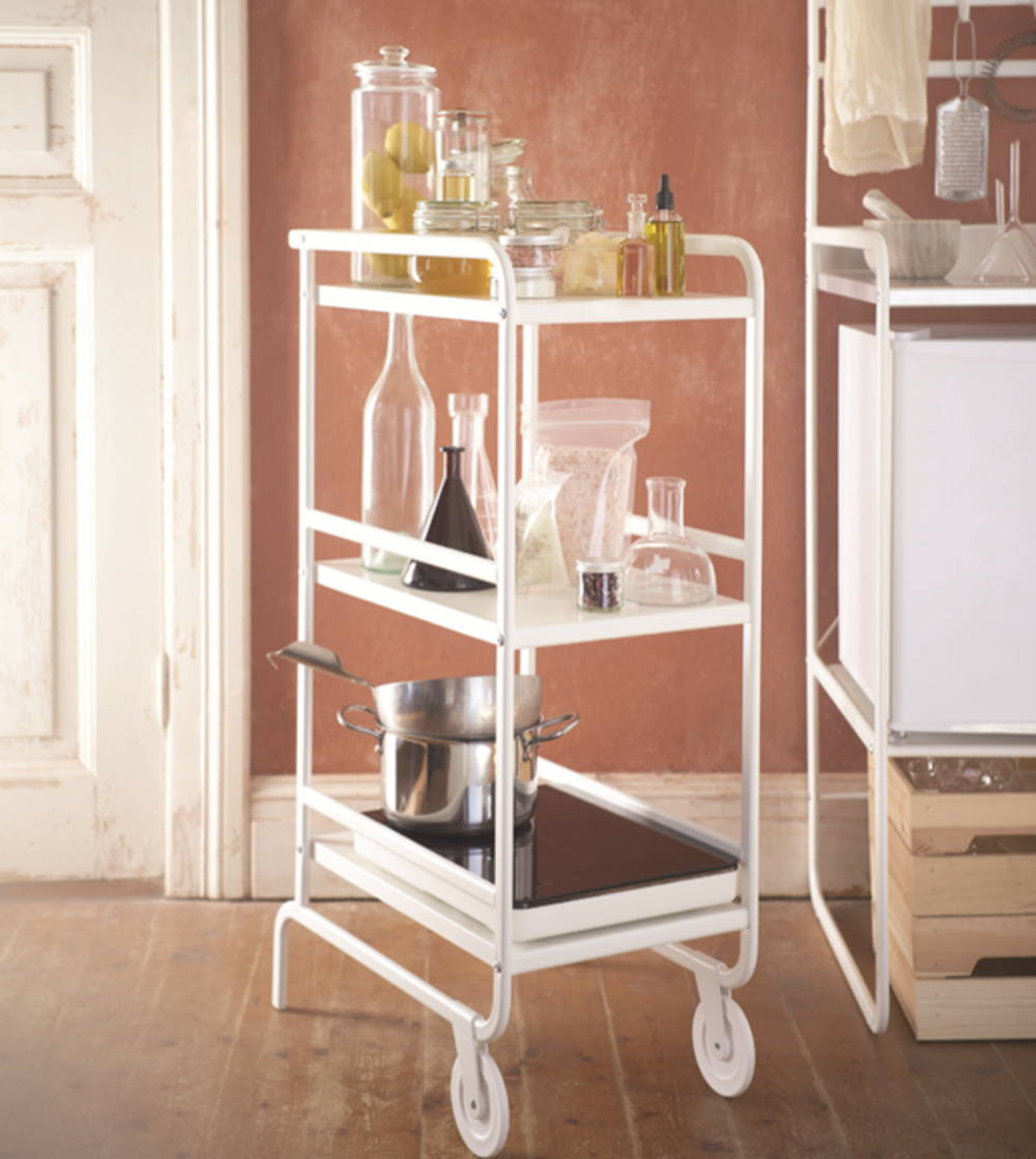 kitchen trolley storage