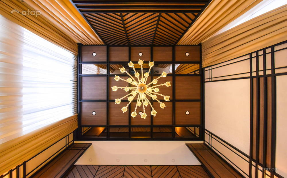twin palms living ceiling